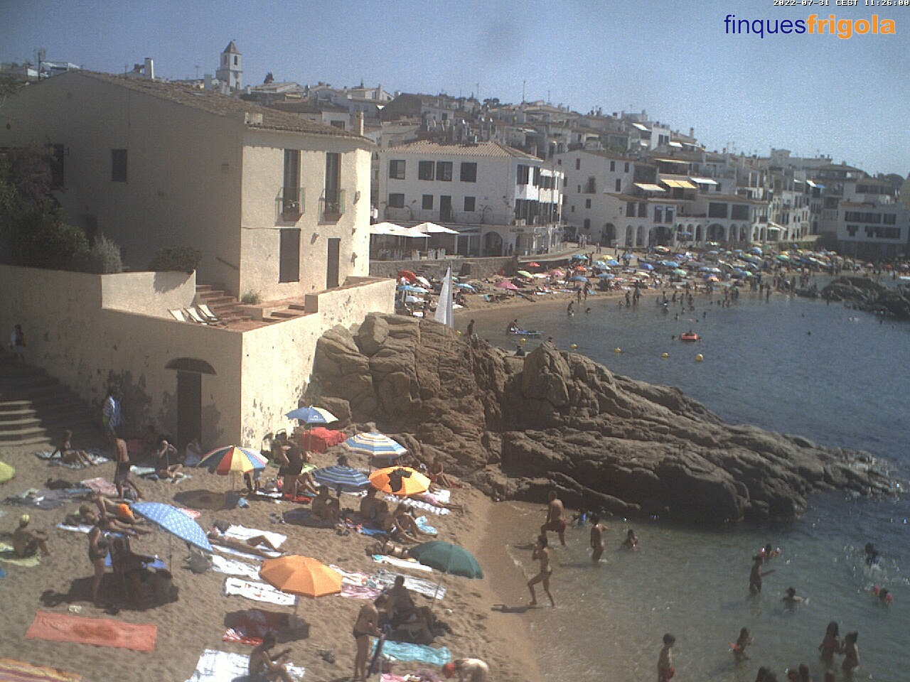 Webcam de Calella - costa brava